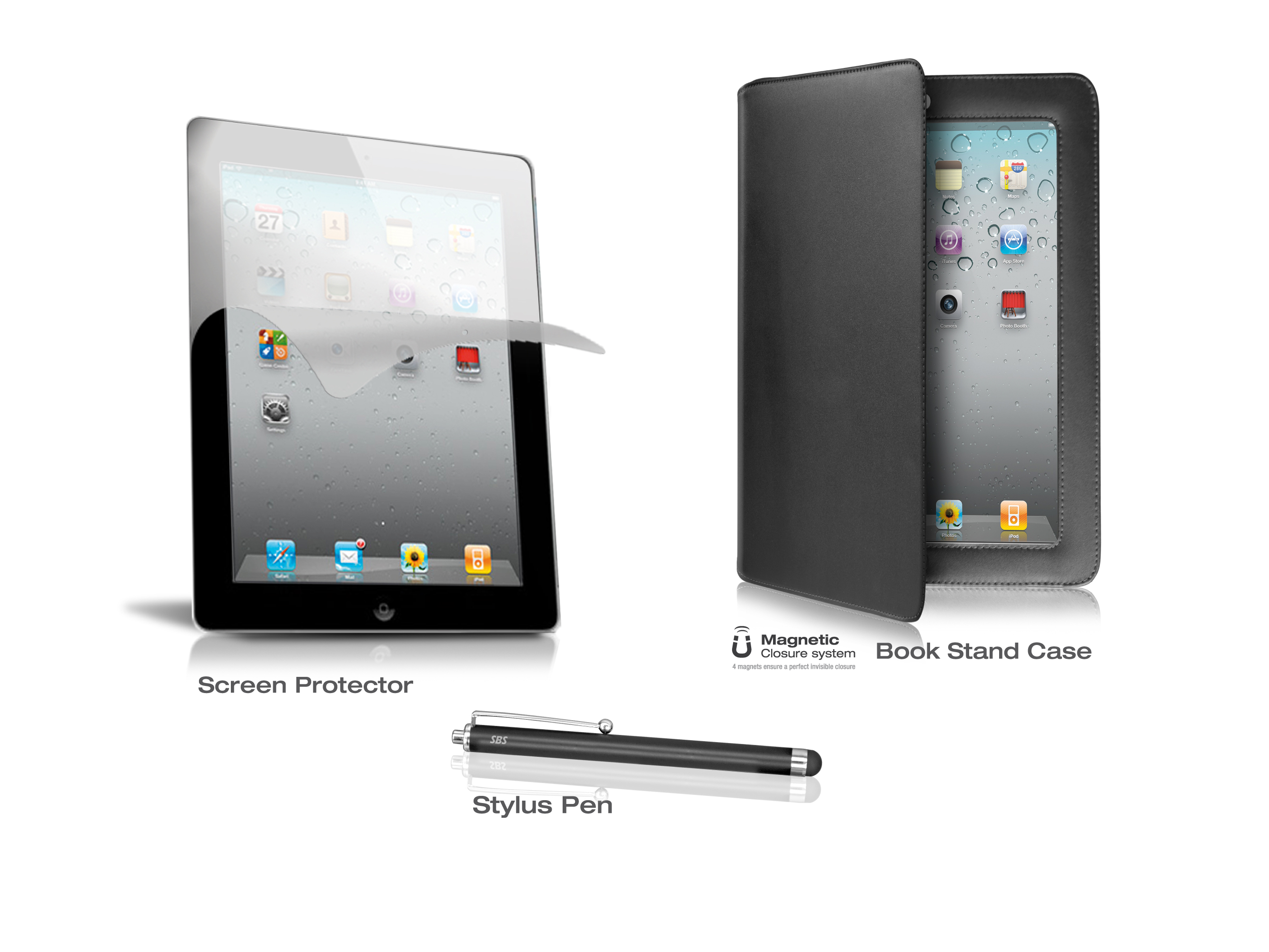 Kit 3 in 1 for iPad