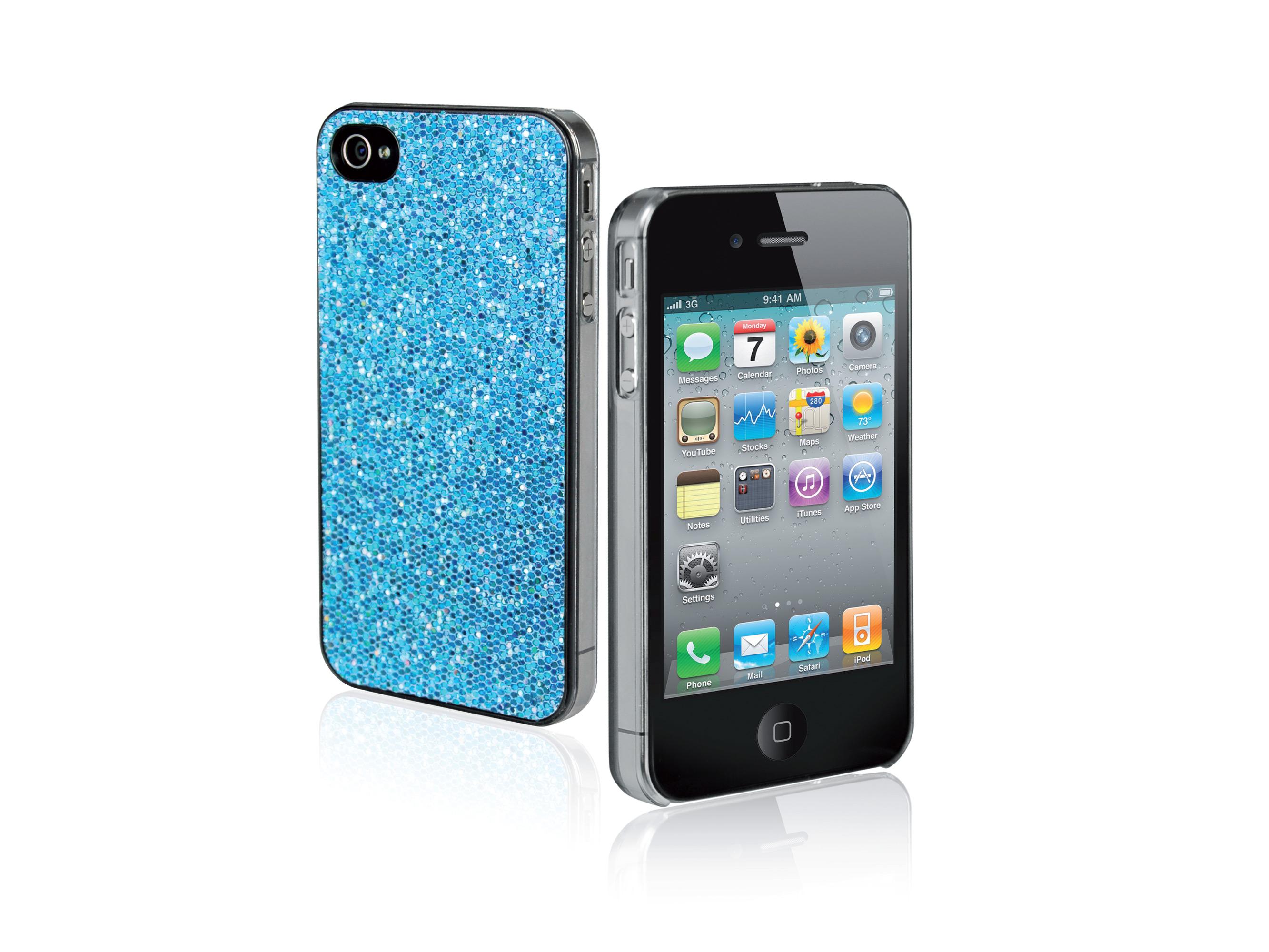 iPhone 4/4S-Glitter Case