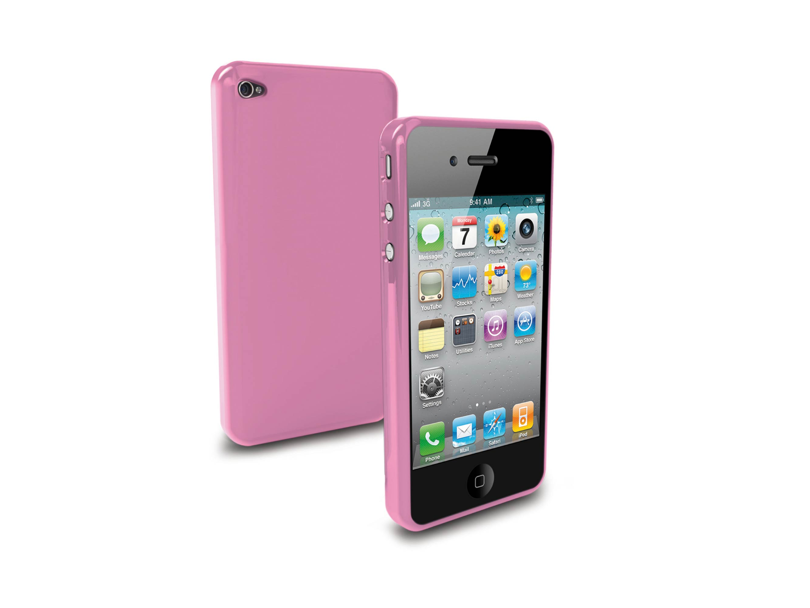 iPhone 4-Gel Case