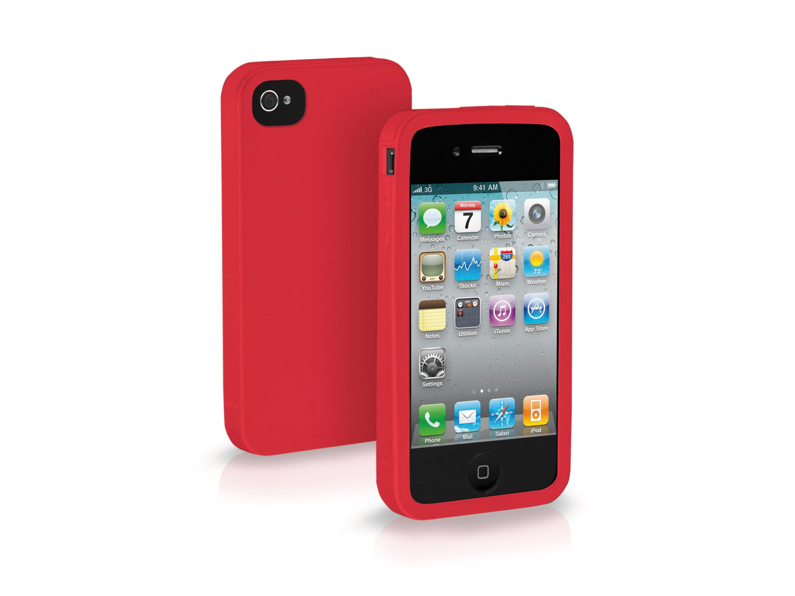 iPhone 4/4S-Silicon Case